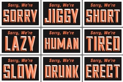 sorry i am human